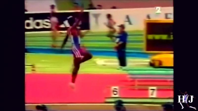 Прыжок в длину Ivan Pedroso - 8.46m в медленном варианте