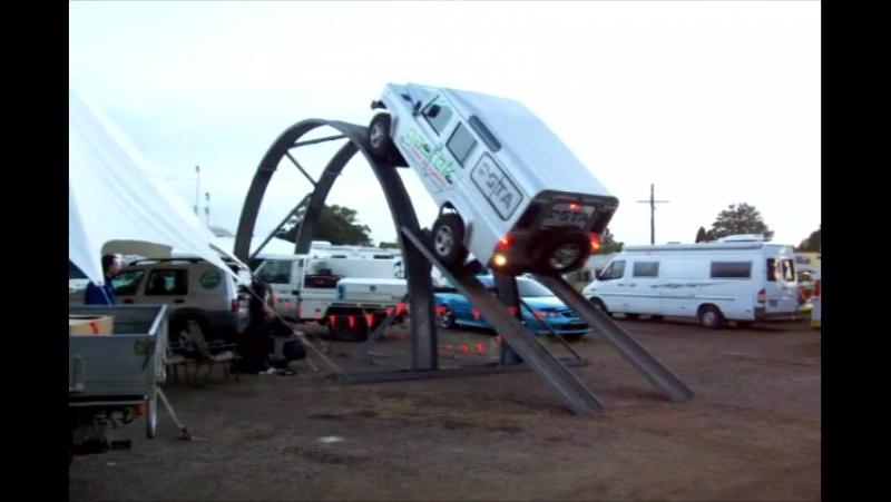 Real Man's 4WD Track (на джипе в небо, Lx24)