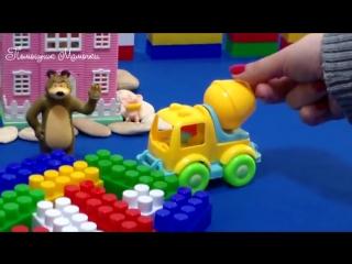 Учим цвета. Развивающий мультик про машинки для детей. В гостях у МИШКИ и Грузовичок