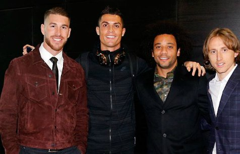 4 Мадридиста попали в команду года FIFA