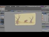 GP- Foxie GreasePencil Freestyle  GP tools addon (Fan art based on a ChrisLam anim) by Daniel M. Lara-HD