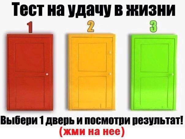 Как сделать дверь в жизнь
