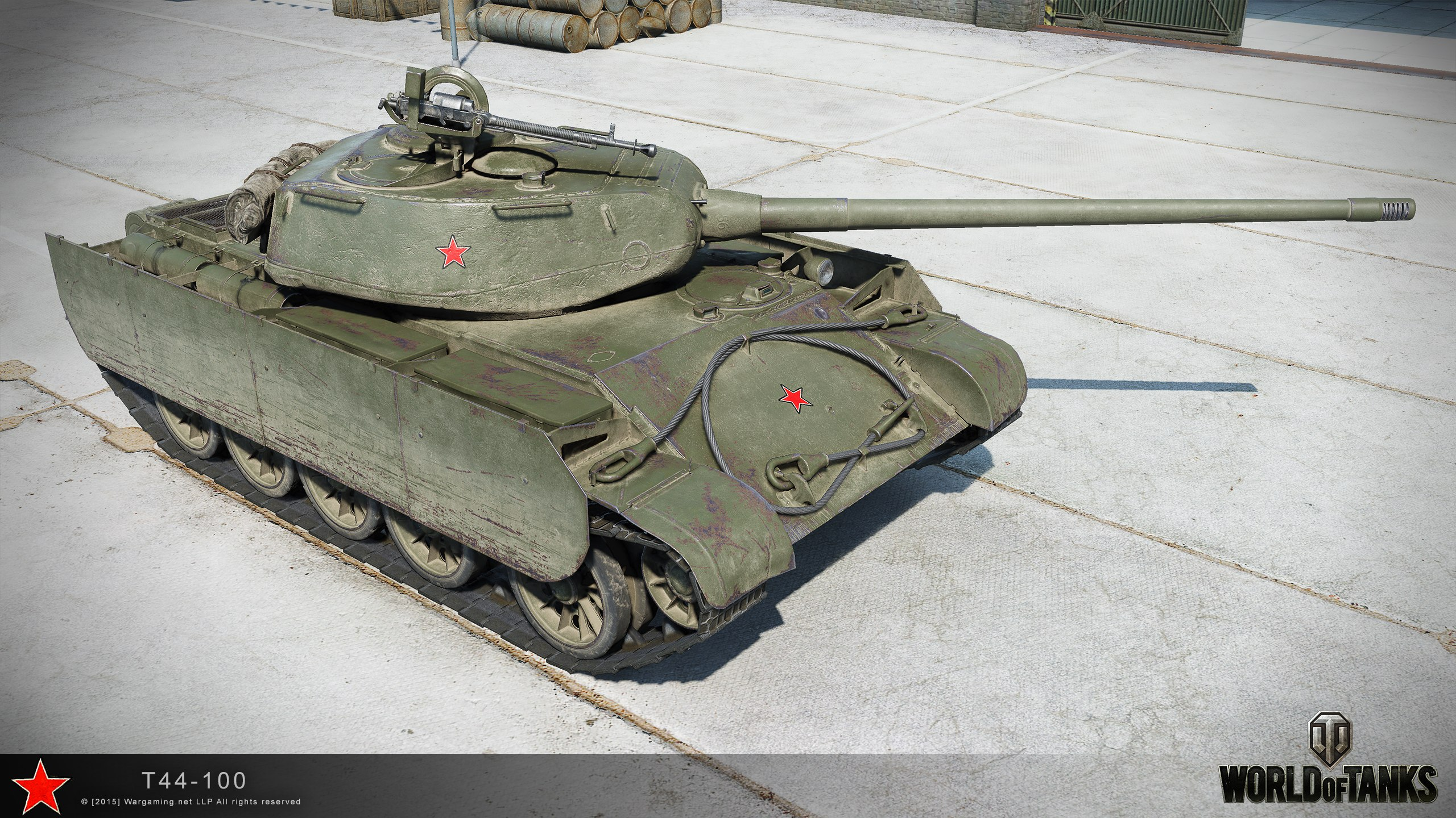 Т-44-100 в World of Tanks