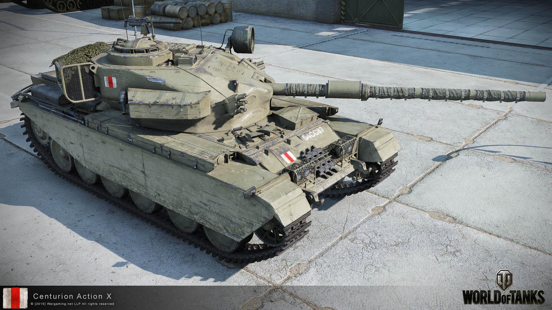 Centurion Action X в World of Tanks