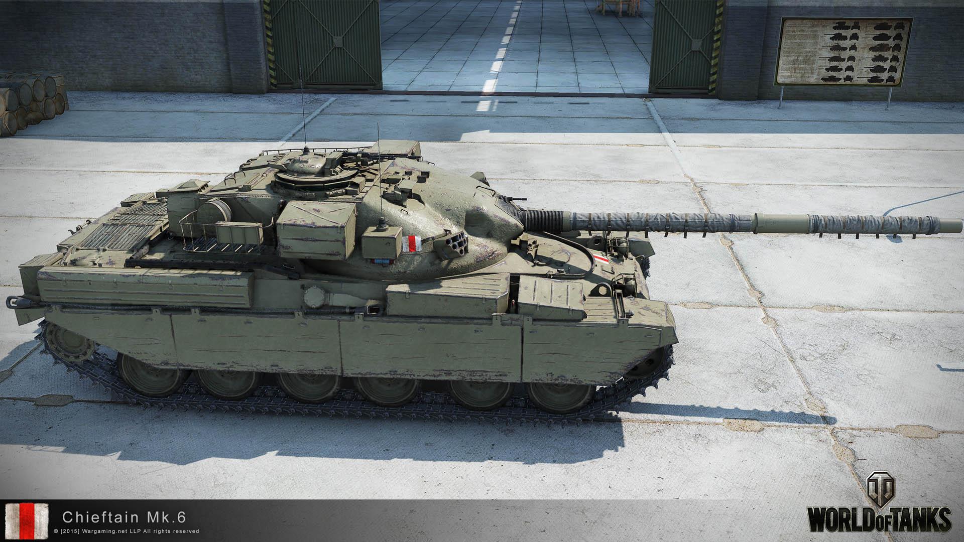 Chieftain Mk. 6 в World of Tanks