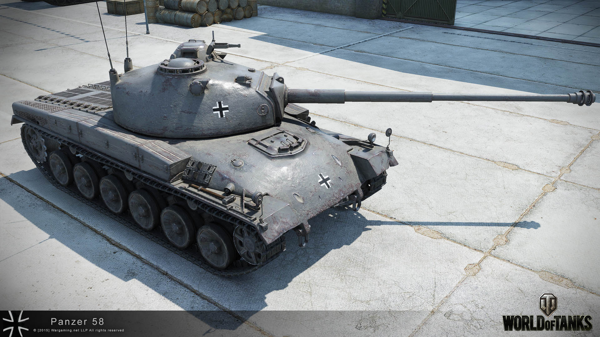 Модель танка Pz. 58 Mutz
