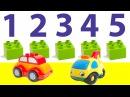 Машинки учат цифры в городе Лего. Сборник. Цифры от 1 до 5. Все серии подряд