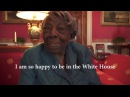 106 year old Virginia McLaurin at the White House for Black History Month