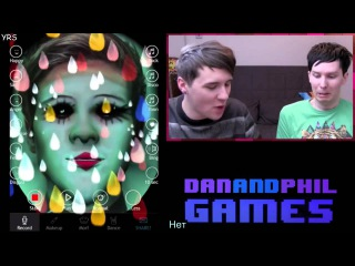 DAN AND PHIL FUNNY GAMING MONTAGE rus sub