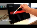 [PencilSynth - Apple Pencil Controlled Synthesiser]