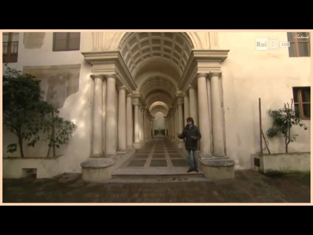 Palazzo Spada - prospettiva di Borromini