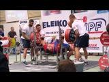 Andrey Konovalov 1st @ IPF Open Worlds Powerlifting Championships 2015 +120kg class