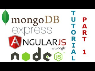 MEAN Stack RESTful API Tutorial (1/5) - Using MongoDB, Express, Angular JS, and Node JS Together