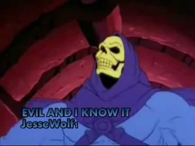 IM EVIL AND I KNOW IT LMFAO Parody starring SKELETOR