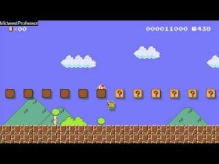 Super Mario Maker #15 - Amiibo Party! Squats, dashes, intros