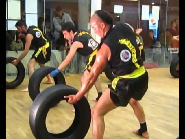 SanDa Training Fighter ISIA GranMaster Senna y ShiFu Paty Lee sanda training fighter isia granmaster senna y shifu