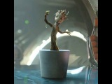 Music Video Baby Groot Dancing to Jackson 5 - I Want You Back