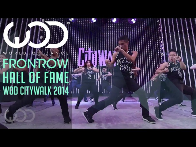 Hall of Fame World of Dance Live FRONTROW Citywalk 2014 WODLIVE '14