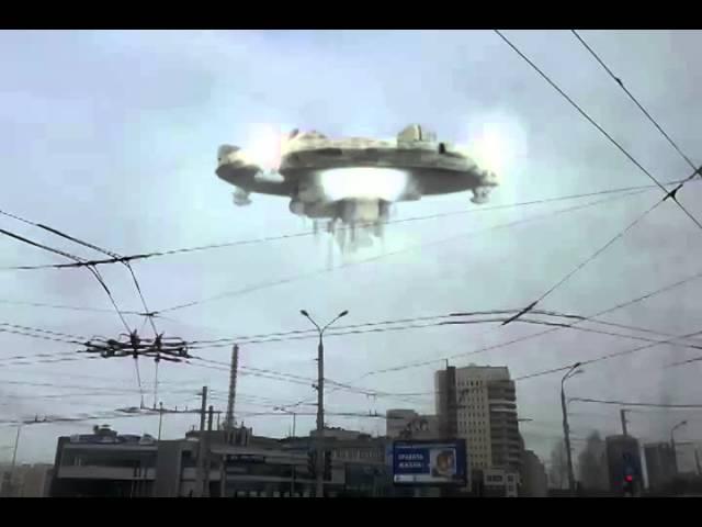 НЛО в Нижнем Новгороде HD
