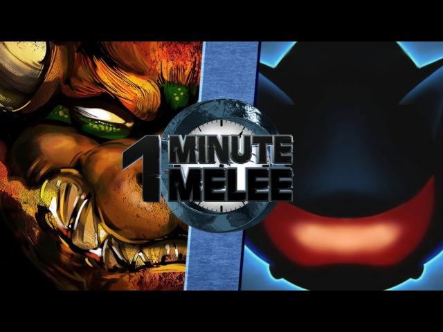 One Minute Melee S3 EP6 - Bowser vs Mecha Sonic
