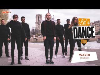 Waydi à Paris // Freestyle Let's Dance Tuto x Juste Debout (2/2) - ARTE Creative