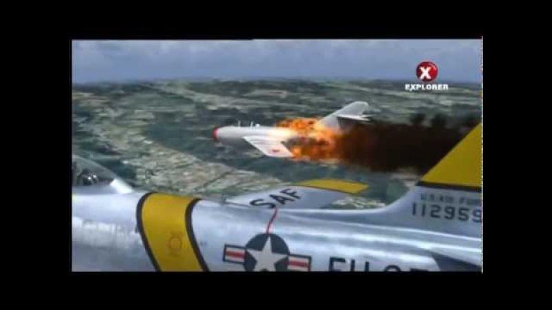 Воздушные бои Миг 15 vs F 86 в Корейской войне