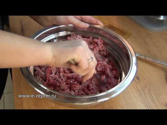 Докторская колбаса - видео рецепт