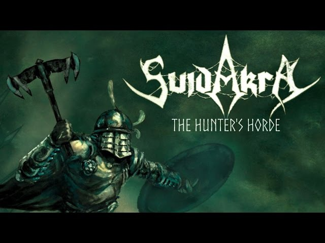 SUIDAKRA - The Hunters Horde (2016) official lyric video AFM Records