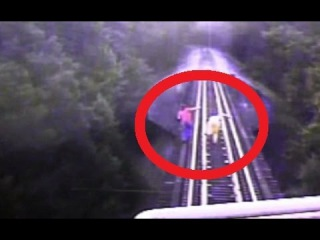RAW: Train Runs Over Two Women Attempting To Cross Indiana Railroad Bridge; Women Survive