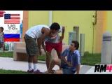 Человеку плохо / Russia vs. USA Experiment