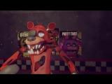 Фокси VS Мангл - Эпичная Рэп Битва Аниматроников - 5 Ночей С Фредди Анимация_HIGH