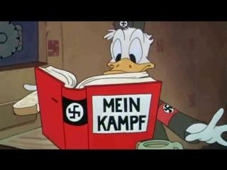 Donald Duck der Nazi Full HD Disney 1943