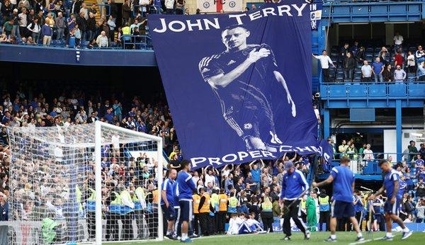 Баннер с Джоном Терри