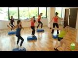 Степ аэробика для быстрого похудения и укрепления мышц