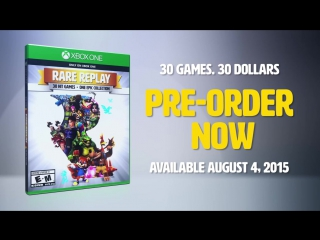 Rare Replay Opening Number