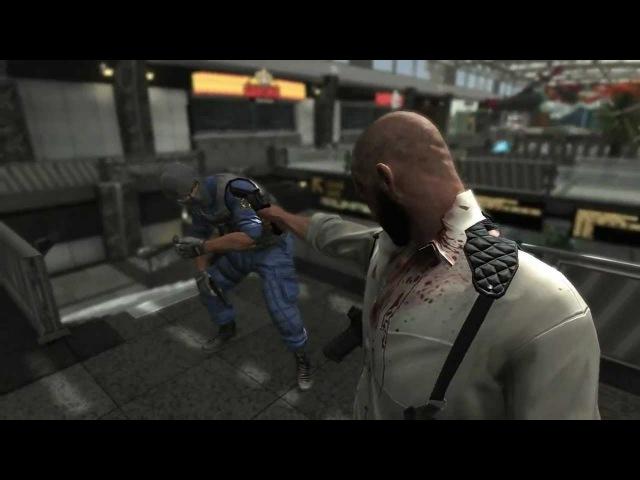 Max Payne 3 Airport shootout No cover No mercy HD