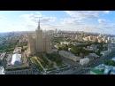 Москва с высоты птичьего полёта - Кудринская площадь