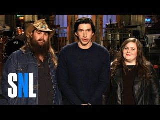 Aidy Tells SNL Host Adam Driver About Her Cut Star Wars Role