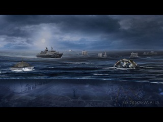 Art photoshop «The day after tomorrow»