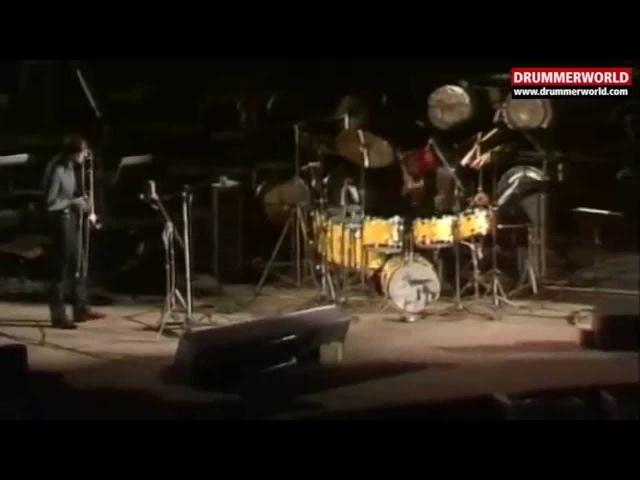 Alphonse Mouzon: DRUM SOLO (Jaco Pastorius - Albert Mangelsdorff)
