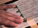 Weave Overshot Christmas Trees on a Rigid Heddle Loom - Part 3