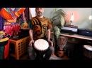 Уроки игры на джембе 6 Африканские ритмы