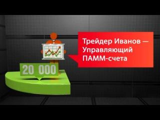 ПАММ-счета компании
