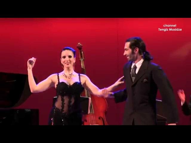 """Tango La Cumparsita. Silvio Grand and Romina Godoy with """"Solo Tango Orquesta"""". Танго. 2015."""
