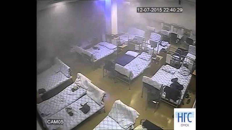 Обрушение казармы ВДВ в Омске