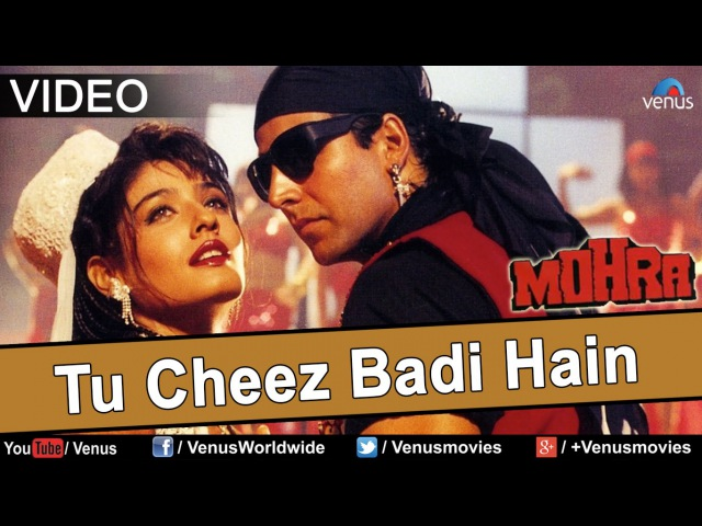 Tu Cheez Badi Hai Mast Mast Video Song | Mohra | Akshay Kumar Raveena Tandon |