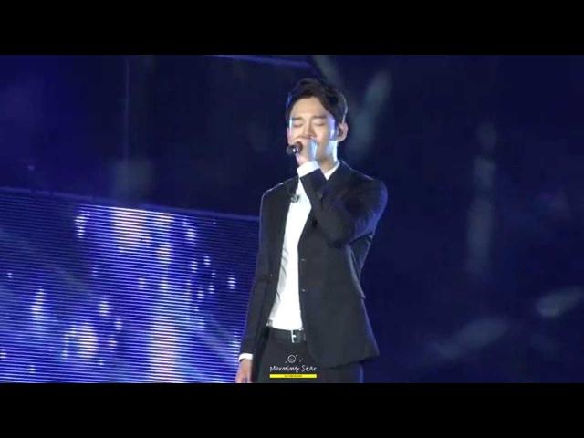 150904 Grand K-pop Festival EXO 첸 - 끝사랑
