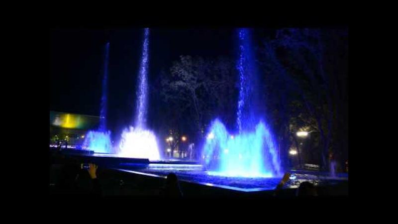 Поющий фонтан Краснодар (Аврора)