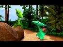 Обучающий мультфильм для детей Поезд динозавров Я тиранозавр, Четвероногий Не...
