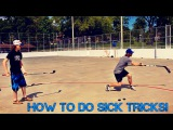 How To Do Insane Hockey Tricks ft. Zac Bell